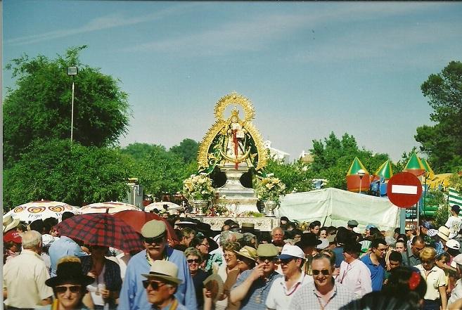 La Virgen de Alharilla procesionará el próximo domingo por su aldea hasta el Humilladero.