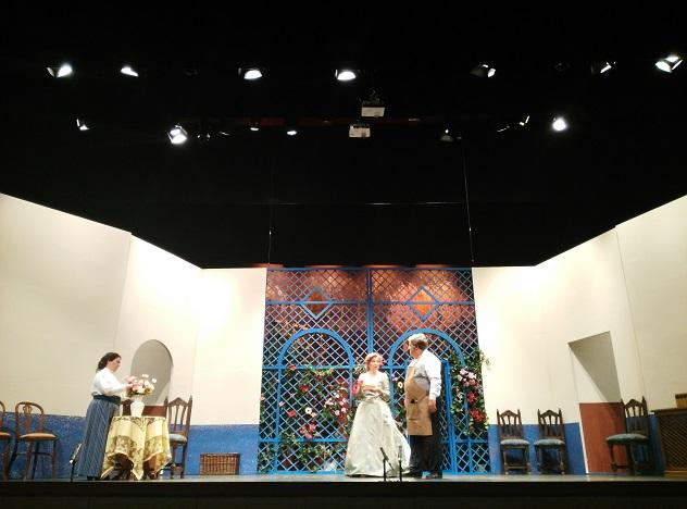 Representación teatral vivida en Andújar durante el pasado fin de semana.