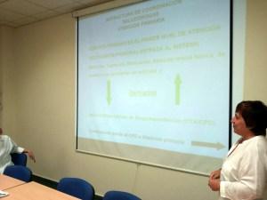 Una de las sesiones informativas sobre el CPD que ya se han celebrado.