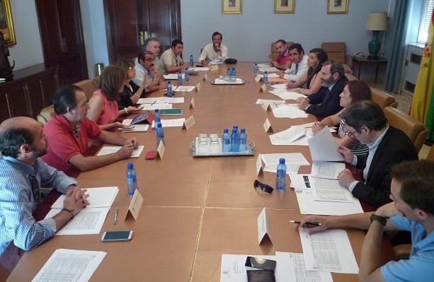 Reunión de la Comisión Provincial de Seguimiento del Programa de Fomento de Empleo Agrario.