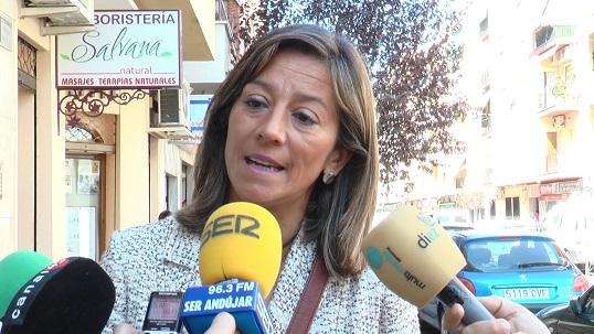 La Concejal de Urbanismo y Vivienda de Andújar, Encarnación Camacho.