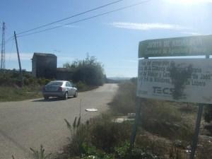 Camino rural en Lopera.