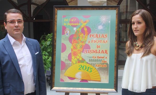 Acto de presentación del Cartel de la Feria de Andújar 2015.