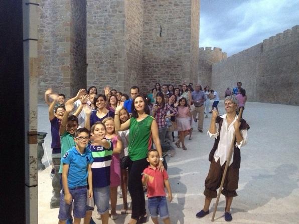 Una imagen de las Jornadas Medievales de Lopera del año pasado.