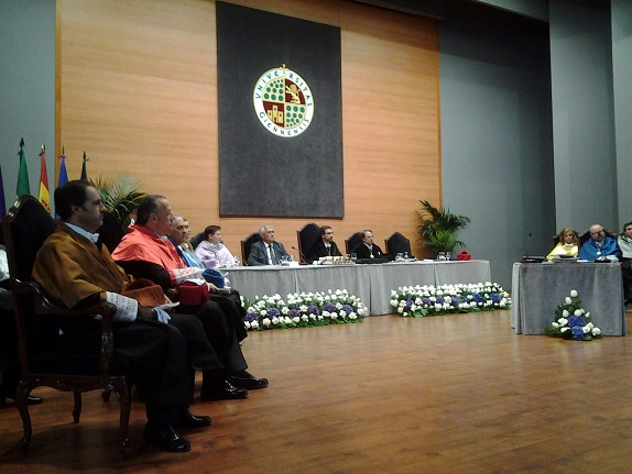 Acto inaugural del curso 2015-2016 en la Universidad de Jaén.