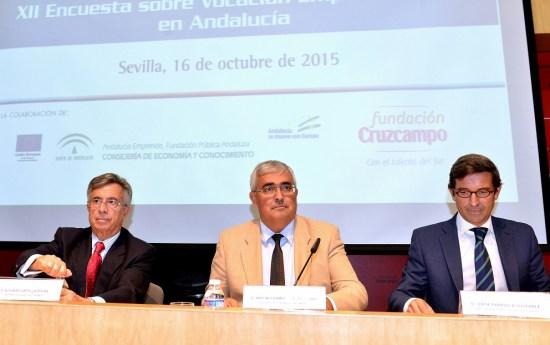 Antonio Ramírez de Arellano, durante la presentación.