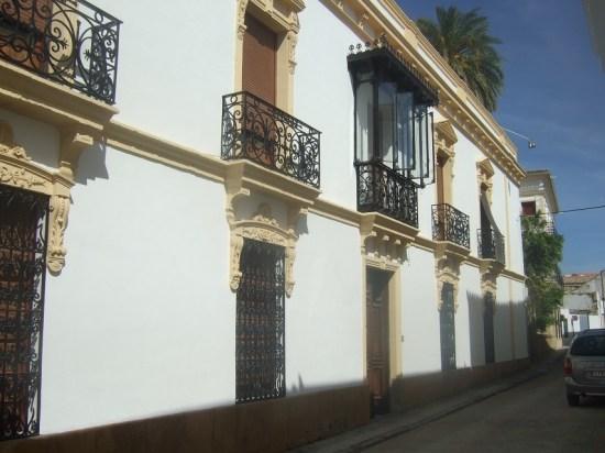 Bloque de viviendas en la comarca de Andújar.