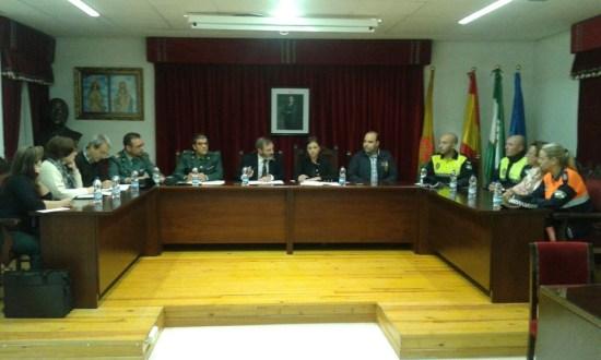 Juan Lillo e Isabel Uceda presiden la Junta Local de Seguridad Ciudadana de Lopera.