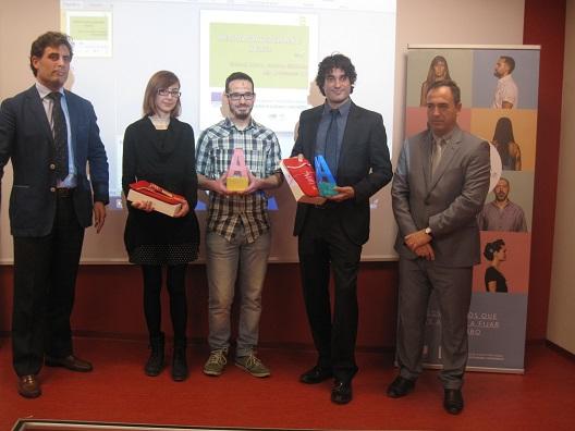 Acto de entrega de los Premios Andalucía Emprende.