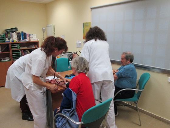 El Hospital de Andújar ha organizado talleres de alimentación, ejercicio y tabaco.