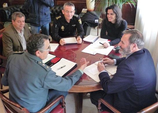 El subdelegado del Gobierno, Juan Lillo, que ha presidido hoy una reunión de coordinación del Plan Director.