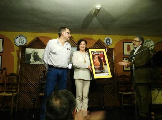 Acto de clausura del VIII Seminario de Estudios Flamencos de Andújar.