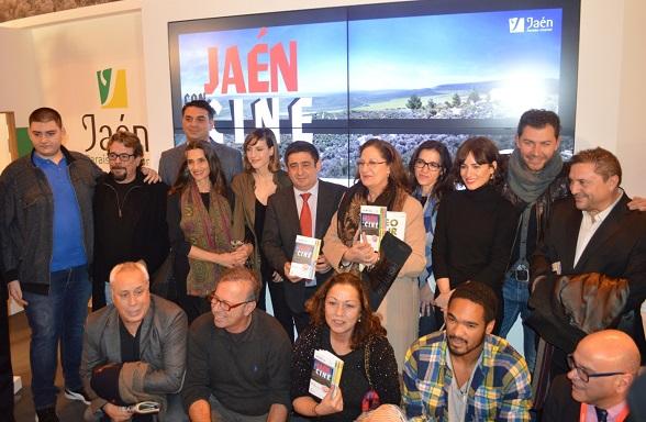 Acto de presentación en FITUR de 'Jaén con el cine. 25 años'.