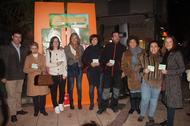 Ganadores del sorteo de la Campaña de la Navidad en Andújar.