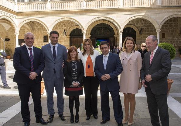 Susana Díaz presentó la Estrategia Integral de Fomento del Turismo de Interior Sostenible de Andalucía Horizonte 2020. Foto: Junta de Andalucía.