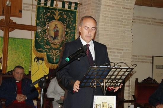 Benito Javier Alcalá Santiago pronunció un emotivo pregón de Semana Santa de Lopera.