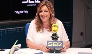 La presidenta de la Junta, Susana Díaz. Foto: Junta de Andalucía.
