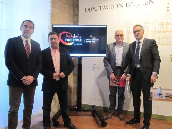 Antonio Fernández, Francisco Reyes, Xavier Batrolí y José Moyano han presentado este estudio.