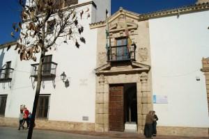 Sede de los Juzgados de Andújar.