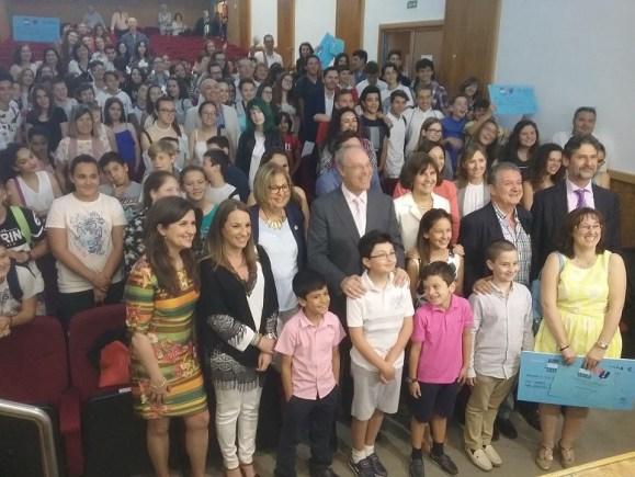 La consejera de Educación, Adelaida de la Calle, ha asistido a la entrega de estos premios.