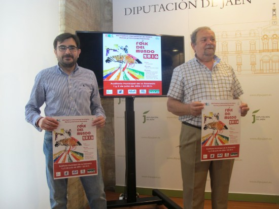 El diputado de Cultura y Deportes, Juan Ángel Pérez, presenta la XXX edición del Folk del Mundo.