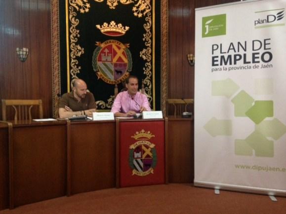 Jornada informativa sobre el Sistema de Garantía Juvenil celebrada en Arjona.
