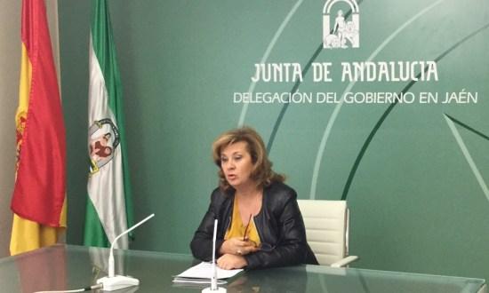 La delegada territorial de Igualdad, Salud y Políticas Sociales, Teresa Vega.  Foto: Junta de Andalucía.