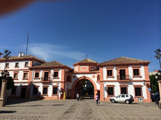 Centro urbano de Andújar.