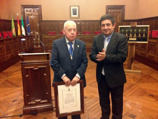 Vicente Oya recibió el pasado mes de febrero el título de Cronista Oficial de la provincia de Jaén.