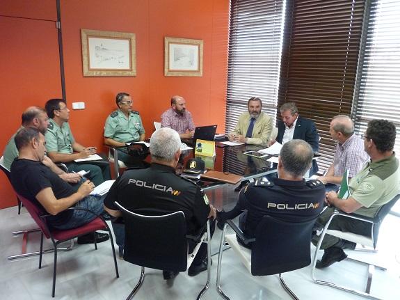 Reunión celebrada hoy para determinar el dispositivo de vigilancia a los furtivos.
