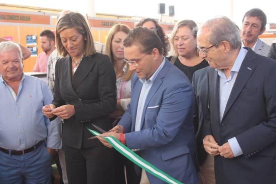 """Acto de inauguración de la VI Feria Multisectorial """"Ciudad de Andújar""""."""