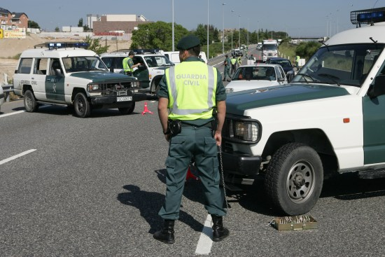 La Guardia Civil interviene en una operación. Foto: Guardia Civil.