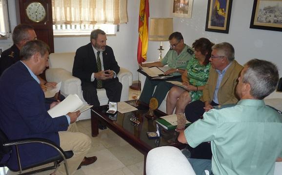El subdelegado del Gobierno, Juan Lillo, ha presidido la primera reunión de coordinación del Plan Director.