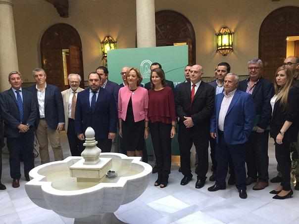 Acto de presentación del primer aforo de producción de olivar en Andalucía para la campaña 2016-2017.