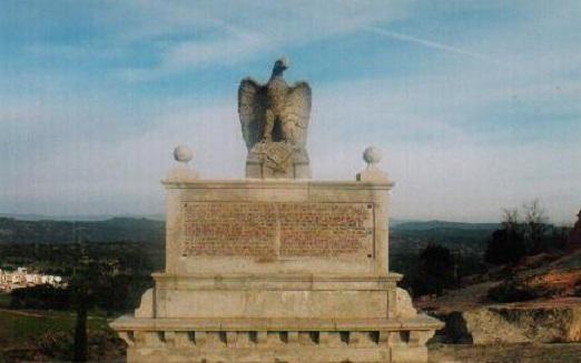 Monumento ubicado junto al Santuario de la Virgen de la Cabeza.