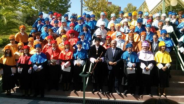 Acto de inauguración del curso universitario 2016/17 en la Universidad de Jaén (UJA).