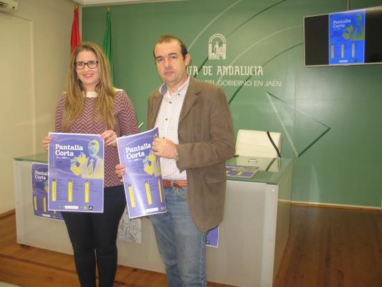 La coordinadora provincial del Instituto Andaluz de la Juventud (IAJ), Ana Morillo, durante la presentación de esta iniciativa.