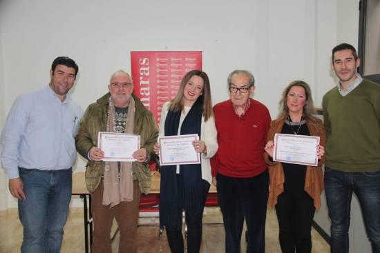 Foto de familia de los ganadores de este concurso celebrado en Andújar.