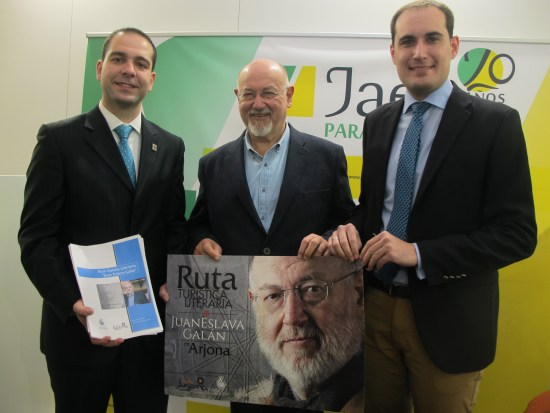 Arjona presenta en Fitur una ruta turística y cultural en torno a la figura y obra de Juan Eslava Galán.