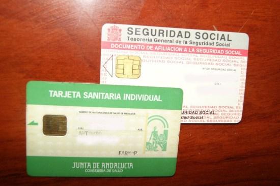 La tarjeta sanitaria es necesaria para pedir cita con el médico.