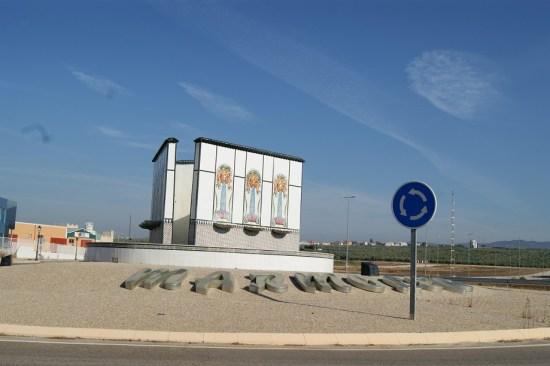 Entrada al municipio de Marmolejo.