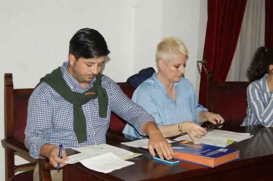 Concejales del PP en el Ayuntamiento de Lopera.  Foto: Lopera Digital.