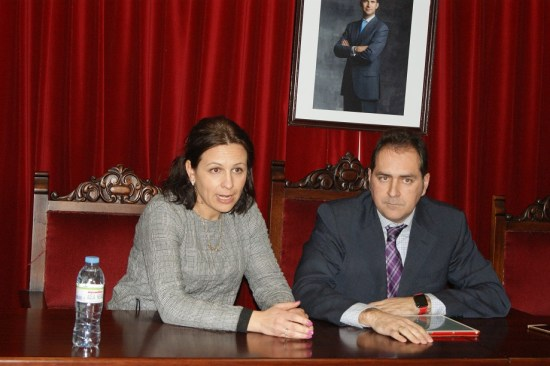 Isabel Uceda e Ildefonso Manuel Gómez.
