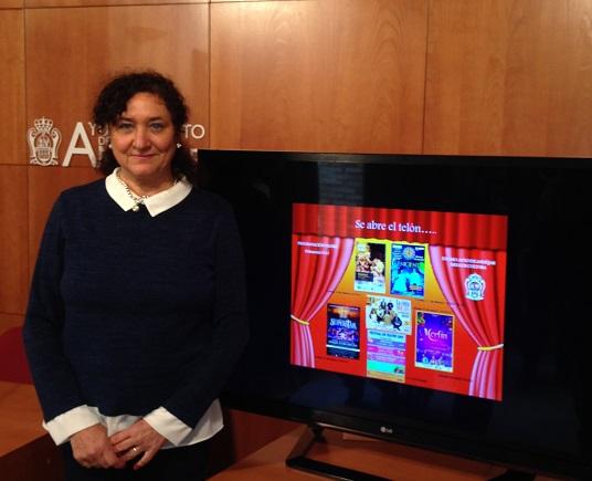 La concejala de Cultura del Ayuntamiento de Andújar, María José Bueno.