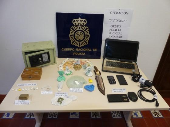 Venta de droga en Andújar