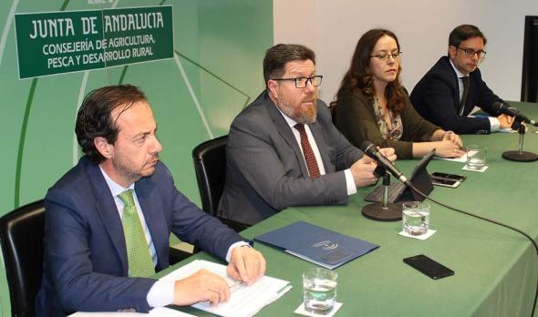 Xylella fastidiosa en Andalucía