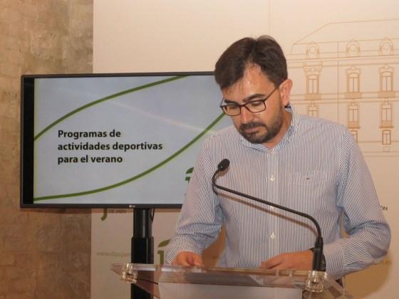 Actividades deportivas de la Diputación de Jaén