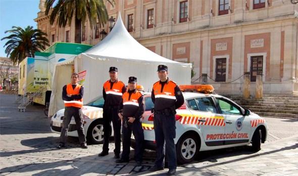 Protección Civil en Andalucía
