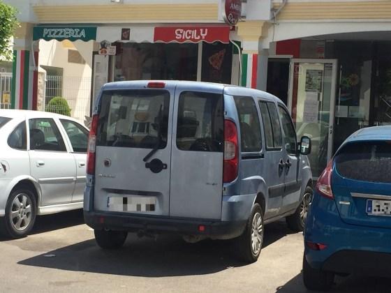 coche municipal en Vera