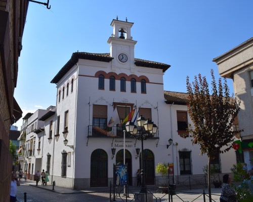 Fachada del Ayuntamiento de Marmolejo.